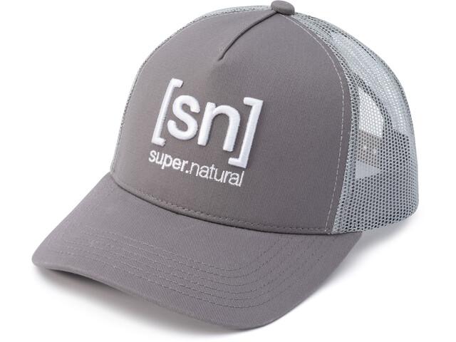 super.natural I.D. Casquette trucker, light grey/silver grey